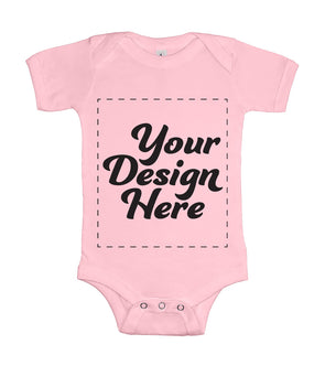 Design Your Own Print Text or Image Baby Onesie