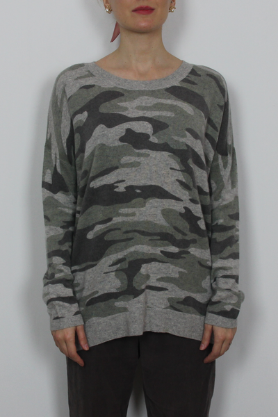 Hayden military sweater
