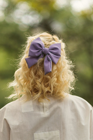 Fabric Hair Bow