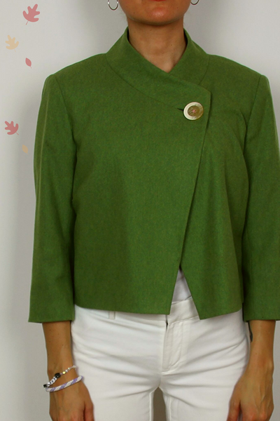 Lilly Pulitzer wool coat