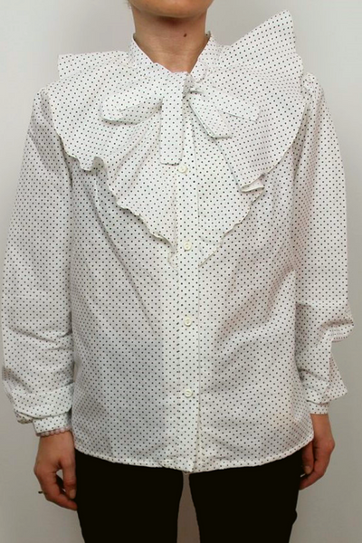 Nino Soviet vintage shirt with dots