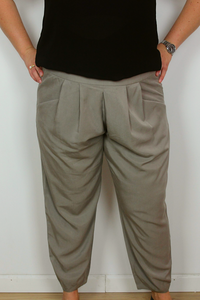 Gray pants plus size