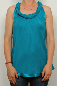 Banana Republic – Silk Twisted Neck Top