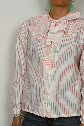 Vintage USSR striped shirt