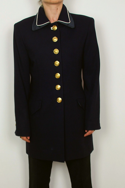 ERIC new york vintage navy blazer