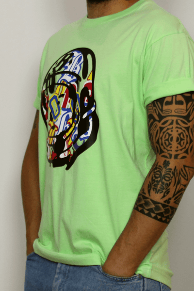 Billionaire Boys Club t-shirt Lime
