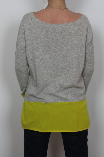 Vince two color pullover
