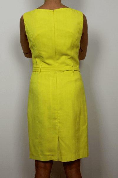 Ellen Tracy Dress in Yellow
