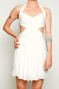 BCBGMaxazria 'Shea' Halter Cutout Cocktail Dress