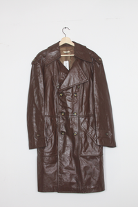 McGregor Leather trench