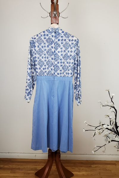 80's Union Made Long Sleeve Dress