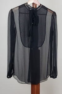 Ralph Lauren sheer top