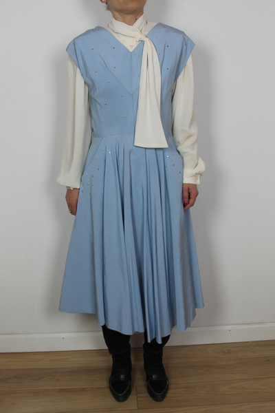 Vintage Dress From The HBO Movie Set 30-ies