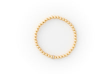 Load image into Gallery viewer, Small Gold Bracelet + Pavé Diamonds in 14k Gold (1)