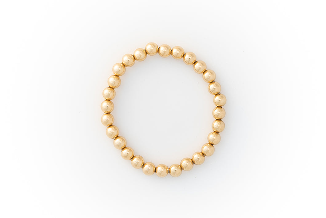 Medium Bracelet Yellow Gold