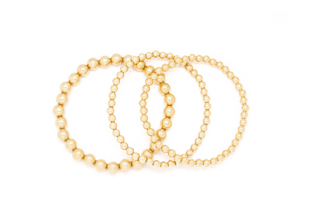 Mixed Sizes Gold Set