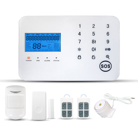 Wireless PSTN+GSM  Emergency Alarm Set with SOS Button for Elderly/Disabled/Children Emergency Calling