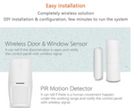 Anti-Intrusion Wifi + GSM + PSTIN Alarm Set