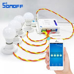 Sonoff wifi smart 4CH wireless Switch work with Amazon Alexa, google home, Nest.