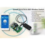 AM2031 temperature and humidity monitoring sensor comfortable with TH16/10