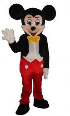 Mascotte Mickey rouge