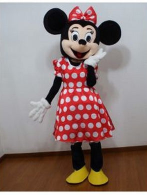 Mascotte Minnie rouge