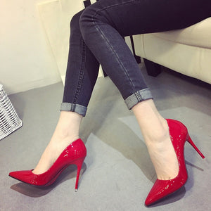 Chaussures verna rouge