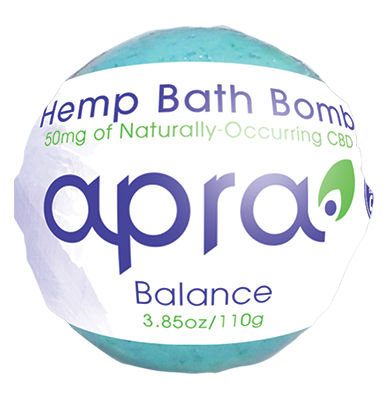 Hemp Bath Bomb - Balance - 50mg
