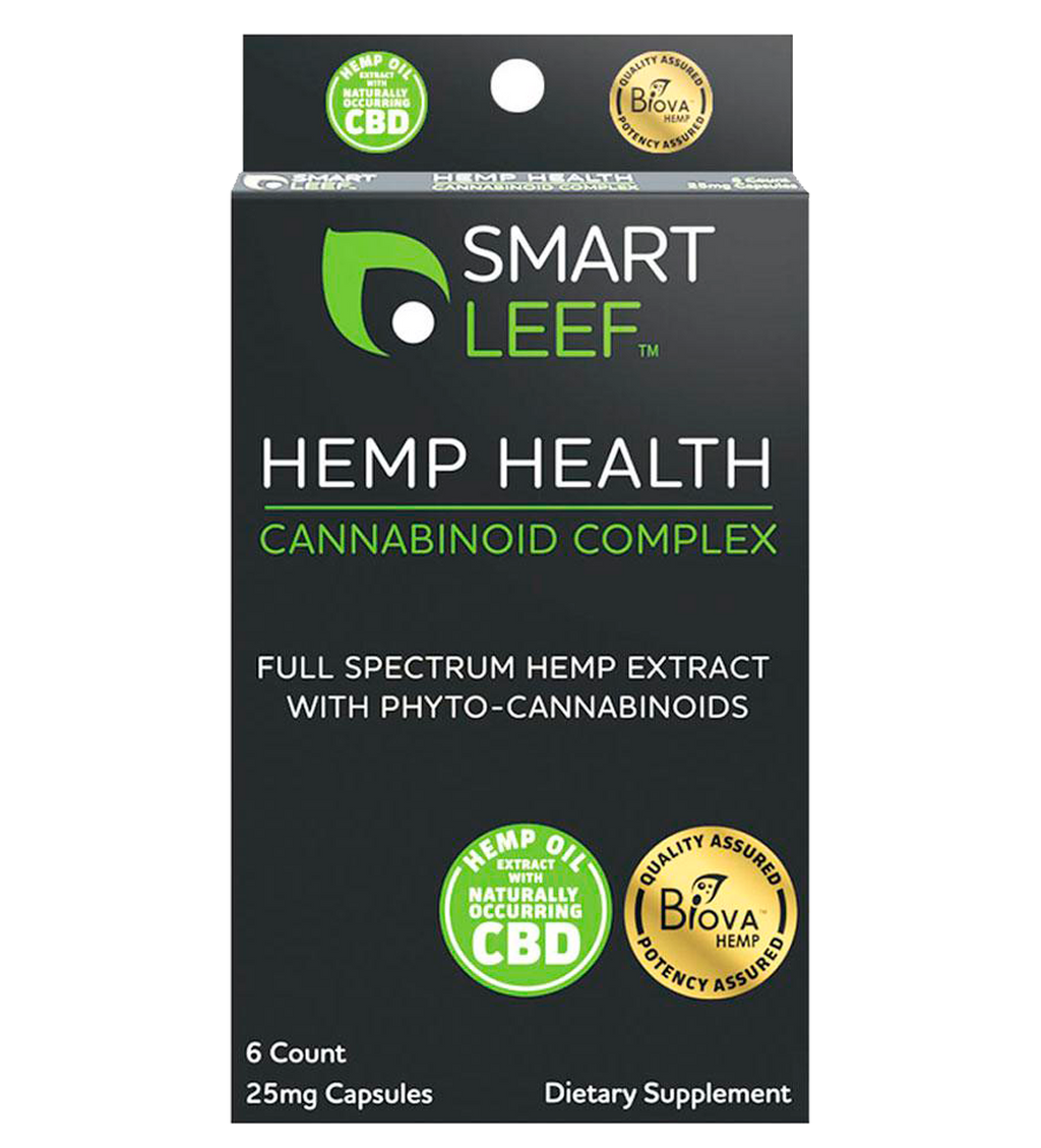 Hemp Health Cannabinoid Complex - 25mg Capsules - 6 Count