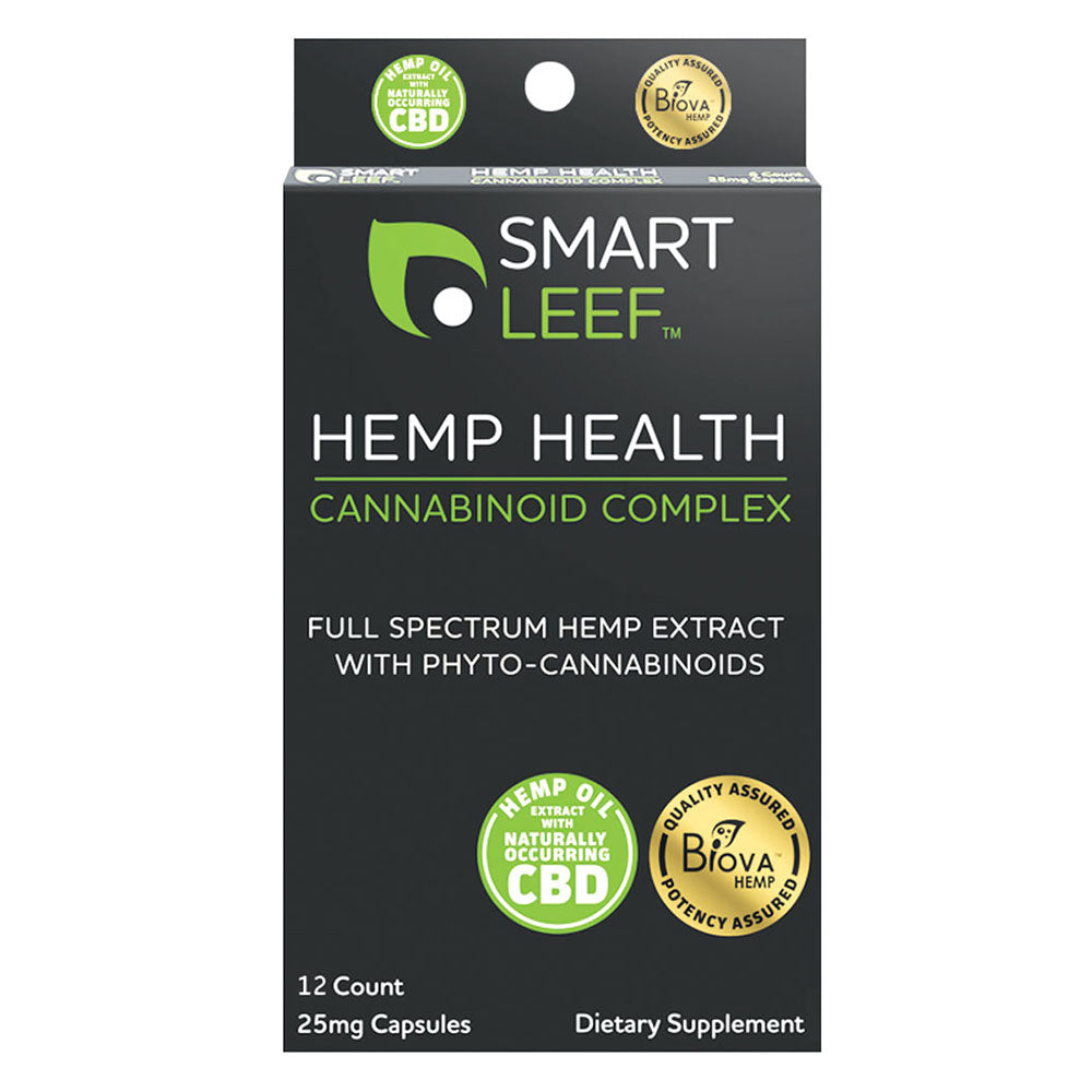 Hemp Health Cannabinoid Complex - 25mg Capsules - 12 Count