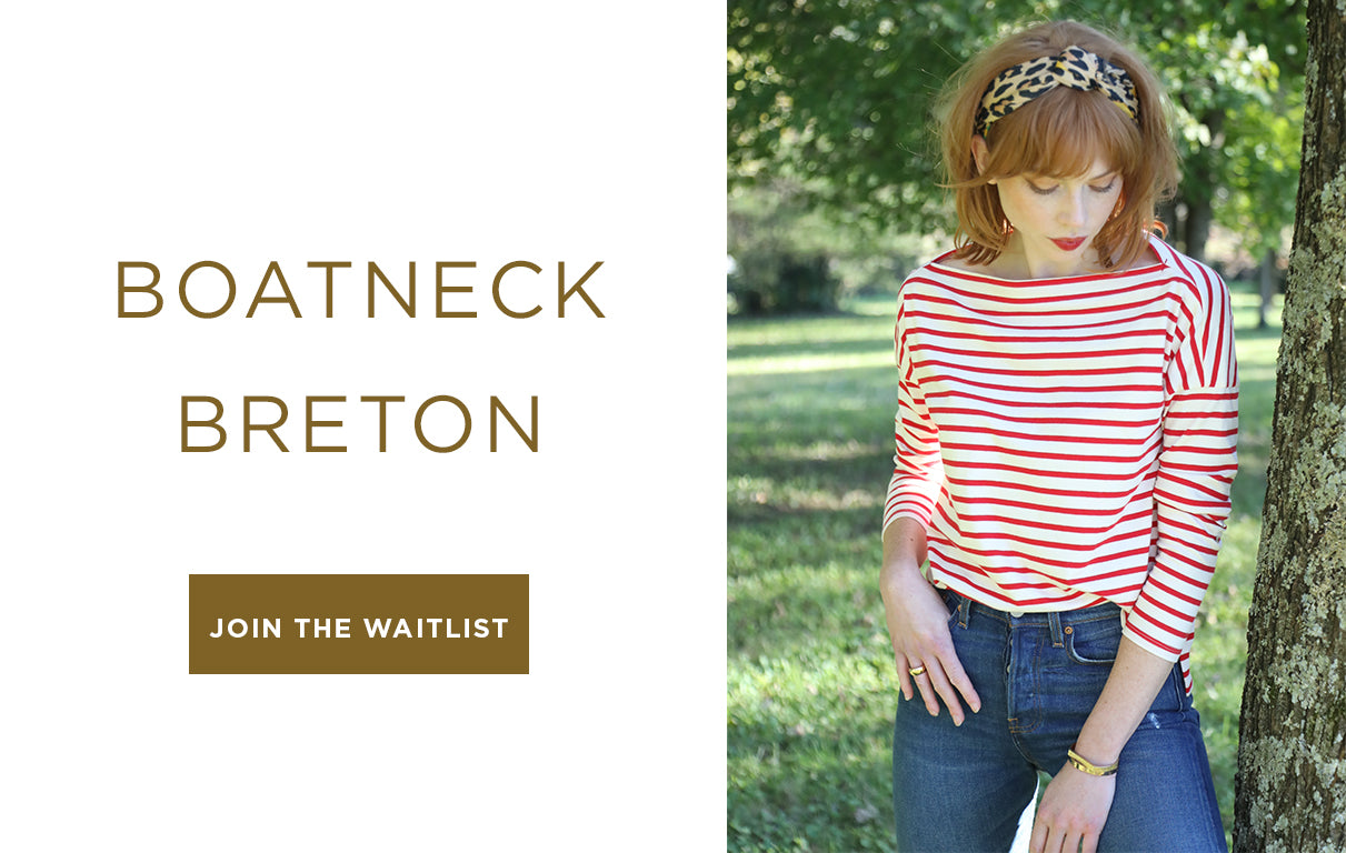 Levade Kentucky Boatneck Breton Equestrian Fashion Coming Soon