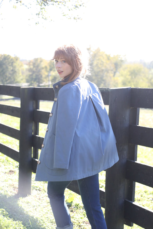 THE MODERN BARN JACKET French Blue