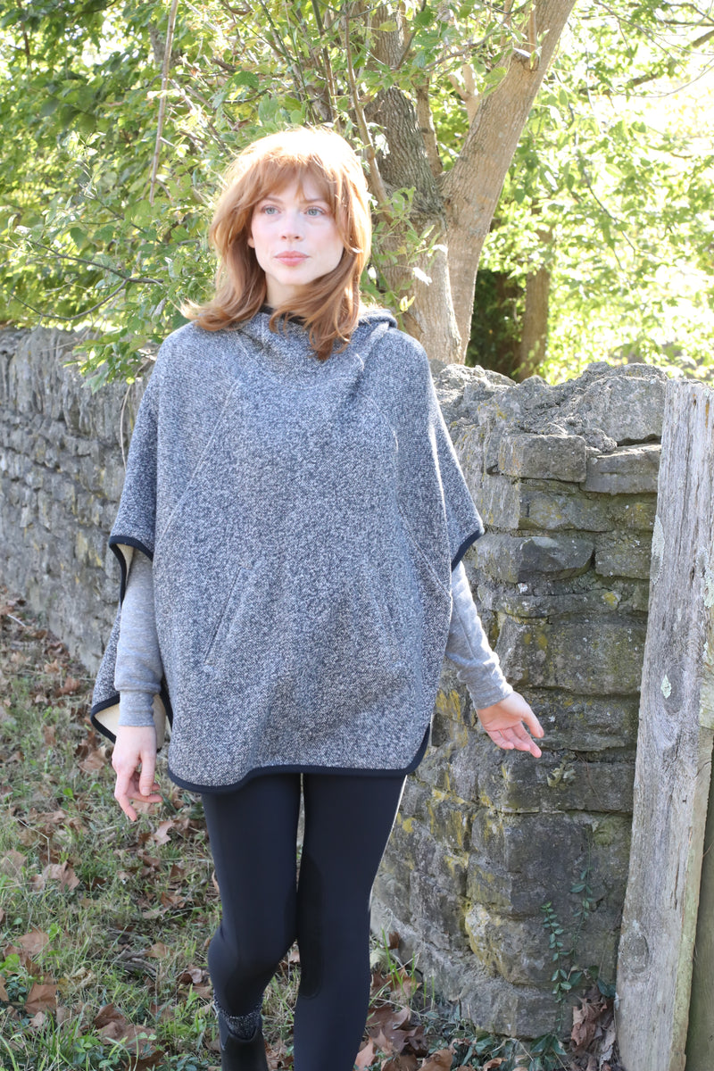 The Perfect Poncho Charcoal