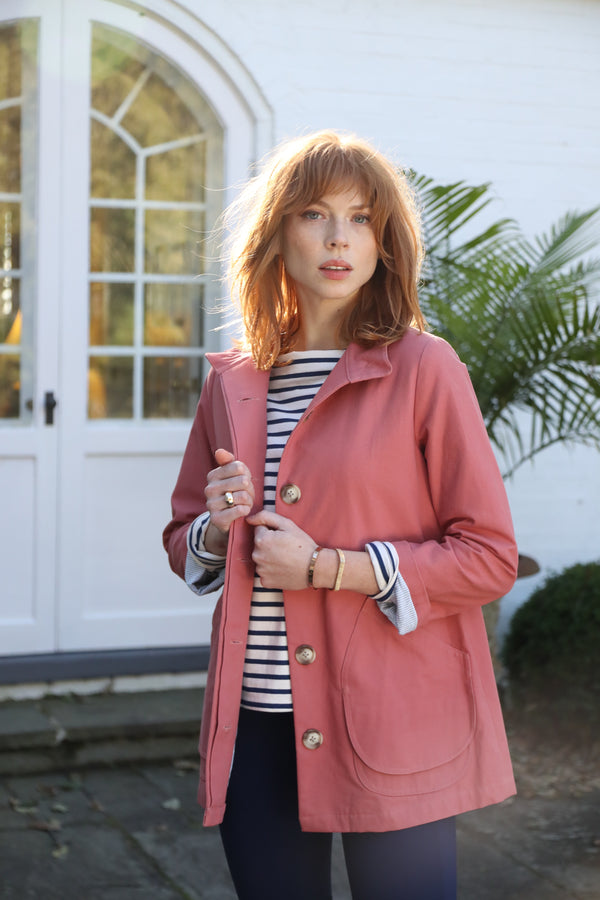 Modern Barn Jacket Faded Coral
