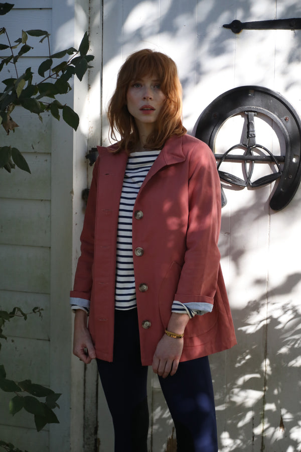 The Modern Barn Jacket Faded Coral