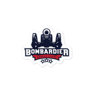 Bombardier Bubble-free stickers