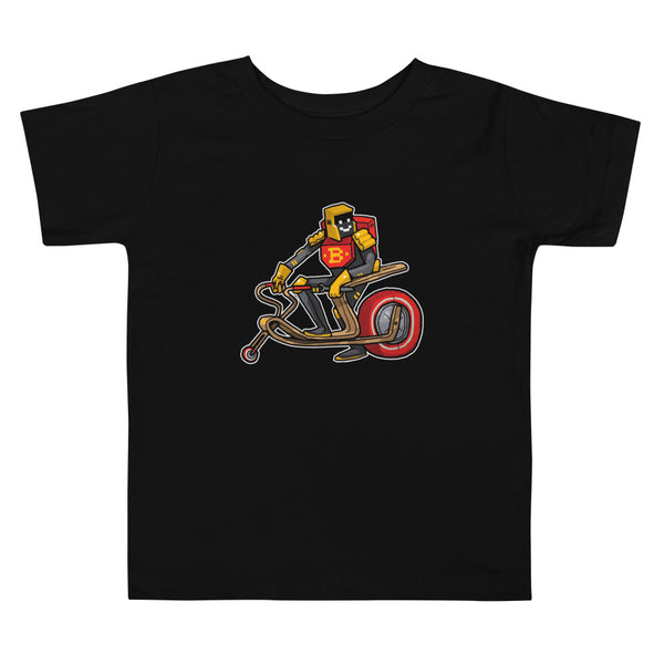 Brum Brum Knight B Toddler Short Sleeve Tee