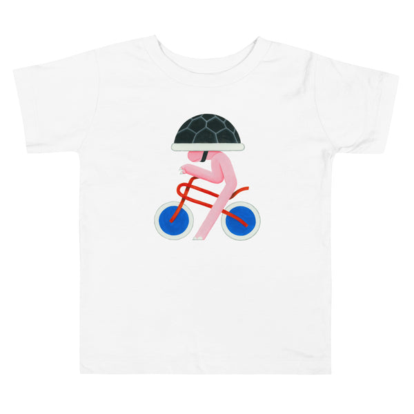 Brum Brum Turtle Toddler Short Sleeve Tee
