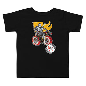 Brum Brum Knight Flag Toddler Short Sleeve Tee