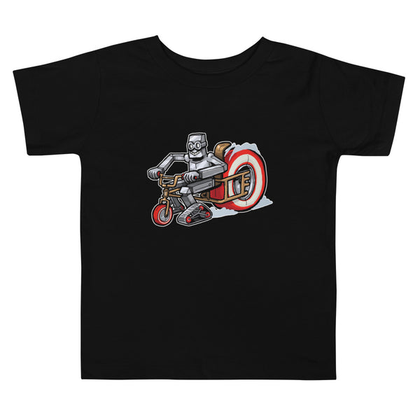 Brum Brum Knight Toddler Short Sleeve Tee
