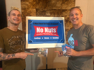 No Nuts Cymbal Mounting System Banner