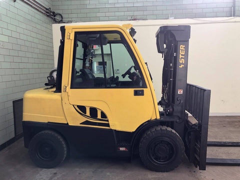 2015 HYSTER H90FT 9000LB LP GAS PNUEMATIC 3 STAGE MAST