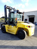 2015 HYSTER H280HD2 28000LB DIESEL FORKLIFT STD MAST DUAL TIRES SS/FP