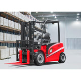 2018 HANGCHA CPD30-AC4 6000LB FORKLIFT ELECTRIC PNEUMATIC 3 STAGE MAST SIDE SHIFT