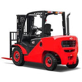 2019 HANGCHA XF-40 8000LB FORKLIFT DIESEL PNEUMATIC 3 STAGE MAST SIDE SHIFT