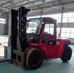 2019 HANGCHA XF-120 25000LB FORKLIFT DIESEL PNEUMATIC 2 STAGE SIDE SHIFT