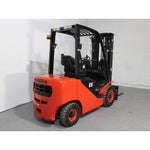 2019 HANGCHA CPCD25-XW33F 5000LB FORKLIFT DIESEL PNEUMATIC 3 STAGE SIDE SHIFT