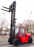 2019 HANGCHA XF-80 17,500LB FORKLIFT DIESEL PNEUMATIC 3 STAGE SIDE SHIFTER