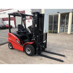 2019 HANGCHA A-20 4000LB FORKLIFT ELECTRIC PNEUMATIC 3 STAGE MAST SIDE SHIFT