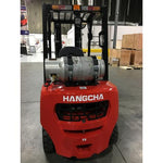 2019 HANGCHA CPYD30-XW71F 6000LB FORKLIFT LPG PNEUMATIC 3 STAGE SIDE SHIFT